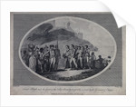 Lieutenant Bligh and his crew of the ship 'Bounty' hospitably received by the Governor of Timor by Benezach
