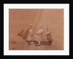 HMS 'Revenge' (1805) by T. Robinson