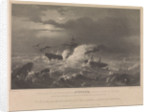 The loss of HM Steam Frigate 'Avenger', 1847 by CP Williams