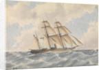 HMS 'Pandora' (1861) by T.C.D. Thompson