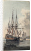 View of His Majesty's ship Inflexible by Edward Pelham Brenton