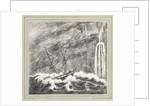 Wreck of HMS 'Julia' at Tristan da Cunha South Atlantic by C. W. Browne