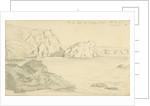The Lion Rock from Aspasegas? Island, 4 October 1870 (on reverse) by John Brett