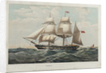 Sketches of a man and small sketch of a sailing vessel (on reverse) by John Brett