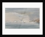 Icebergs off Cape Horn 1856 and showing HMS 'Tribune' by Harry Edmund Edgell