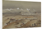 View of Santiago, Chile, 1857 showing the Andes by Harry Edmund Edgell