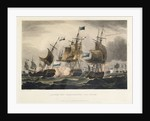 Action off Camperdown, Oct 11th 1797 by Thomas Sutherland