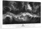 To Sir Peter Parker... This Representation of the distressed situation of his Majesty's Ship 'Egmont'... when dismasted in the Great Hurricane, Oct 6th, 1780 near the Island St Lucia... by... William Elliott by William Elliott