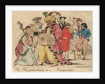 The Plenipotentiary at a Masquerade by Isaac Cruikshank