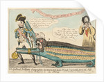 The Gallant Nelson bringing home two Uncommon fierce French Crocodiles from the Nile as a Present to the King by Isaac Cruikshank