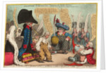 Lilliputian - Substitutes, Equiping for Public Service by James Gillray