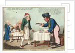 An English Sailor at a French Eating House by George M. Woodward