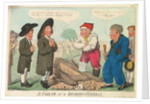 A sailor at a Quakers Funeral by George M. Woodward