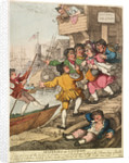 Miseries of London by Thomas Rowlandson