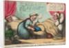 The Wooden Leg - or Careful Landlady by Thomas Rowlandson