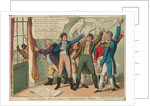 Tegg's Caricatures No.10. True Born Britons or Constitutional Chorus by Thomas Tegg