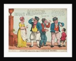 Sailors drinking the Tunbridge Waters by Thomas Rowlandson
