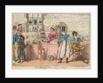 Dandies having a treat by Isaac Cruikshank