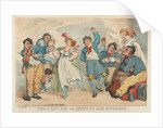 The Last Jig or Adieu to Old England by Thomas Rowlandson