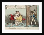 Amorous Ladys. or Tete - a - Tete Exstraohnary (Lady Strachan) by William Heath