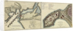 Plan of the attack made on Geriah Fort by Rear Admiral Watson, 13 February 1756 by T. Jefferys