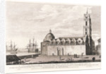 A view of the Franciscan church & convent in the city of Havana, taken from the Alcade's House in Granby Square by Elias Dumford
