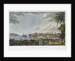 NE view of Fort Louis in the island of Martinique, 5 February - 22 March 1794 by C. Willyams