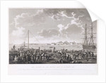 The landing of the British Army at Mondego Bay by H. L'Eveque