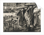 Billingsgate fish porters, 1920 by Frank William Brangwyn