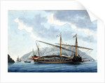 French galley at Marseilles by Antoine Roux