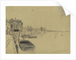 Crowley's Wharf, Greenwich, in February 1825 by Edward Duncan