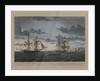 Den engelske Kutterbrig: 'Seagull', Captain Cathcart... den 19 July 1808, med Orlogs Briggen Lougen.... by N Truslev