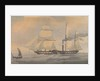 The John Bull steam and sail vessel by unknown