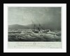 The loss of the steam ship 'Hope' steam ship on the south eastern coast of Africa by William John Huggins