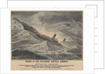 Wreck of the steamship 'Central America' on 12 September 1857, foundered in a hurricane, off Cape Hatteras by J Childs