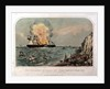 The explosion on board the steamship 'Great Eastern', off Hastings, on the 9 September 1859 by FW Farbrother