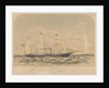 Lithograph of the Spanish vessel 'Mino' (1870) by J. McCahey