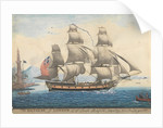 The Daphene of London, Capt. Joseph Banfield, departing from Naples year 1791 by Corne