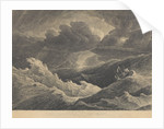 From a sketch made in 1804 during a storm between Madagascar and the Cape of Good Hope in which the Indiaman ship 'Prince of Wales' was totally lost by L. Hastings