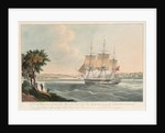 The East Indiaman 'Mellish' by William John Huggins