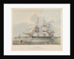 The 'Ironsides' Iron ship built in Liverpool, by Jackson Gordon & Co. in 1838 by Samuel Walters [artist] W Physick [engraver]