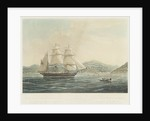 To the Directors of the London Missionary Society... their New Ship The John Williams... entering the Bay of Hauhine, one of the Society Islands in the South Pacific Ocean by R.J. Elliot