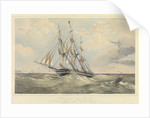 The New York and London packet ship 'Southampton' (1600 tons) by Thomas Goldsworth Dutton