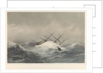 The 'Kent' (1853) 1000 Tons in a storm by William Foster