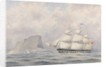 Clipper Ship 'Norwood' (1854) by A. E. Morris