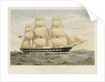 The clipper ship 'Orwell' by Thomas Goldsworth Dutton
