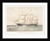 The East Indiaman 'Agamemnon' by Thomas Goldsworth Dutton