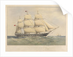 Clipper ship 'Alnwick Castle' 1250 Tons by Thomas Goldsworth Dutton
