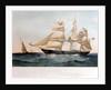 Clipper ship 'Harwood' (Br, 1857) by Thomas Goldworth Dutton
