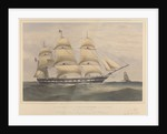 Clipper ship 'Lincolnshire' (1858) 1100 Tons by Thomas Goldsworth Dutton